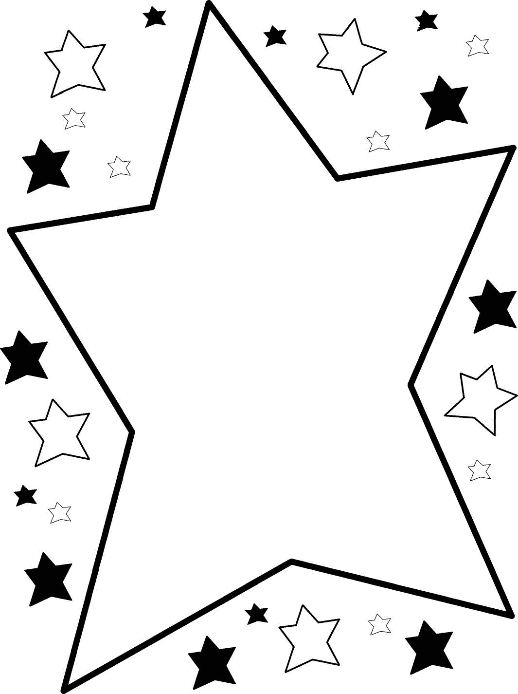 black star borders - photo #29